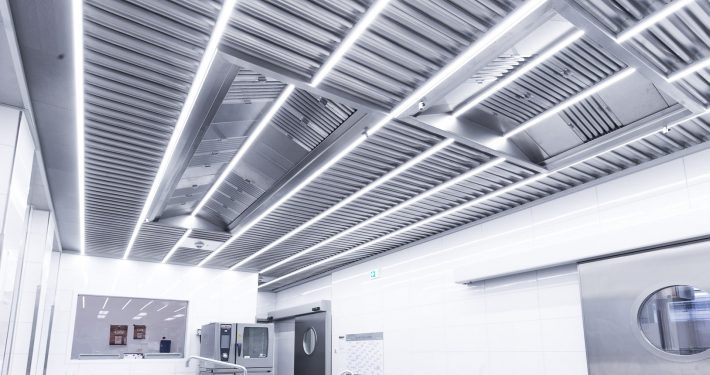 GIF ceiling with innovative LED lighting
