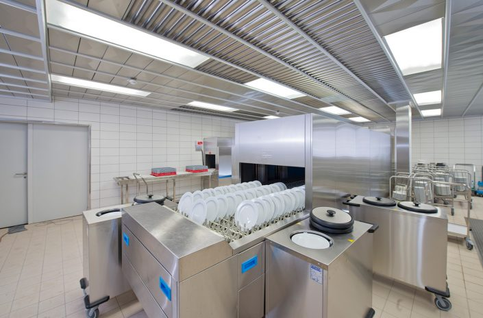 Juwi AG, dishwashing area