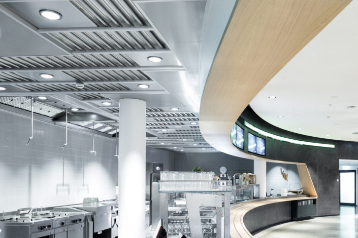 GIF extraction ceiling Servery downlights